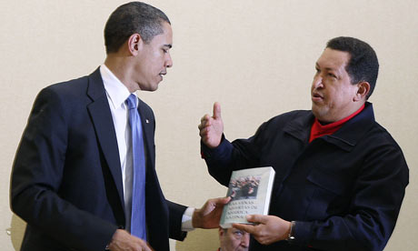 chavez book obama summit americas las venas abiertas america latina libro galeano eduardo cumbre reunion